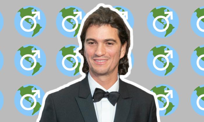 The We Company's Adam Neumann