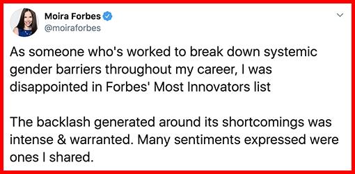 Moira Forbes