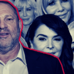 Harvey Weinstein and accusers including (clockwise from top left) Ambra Battilana Gutierrez, Daryl Hannah, Rosanna Arquette, Ashley Judd, Rose McGowan, Annabella Sciorra and Asia Argento.