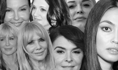 Harvey Weinstein accusers including (clockwise from top left) Ashley Judd, Asia Argento, Rose McGowan, Ambra Battilana Gutierrez, Annabella Sciorra, Rosanna Arquette and Daryl Hannah.