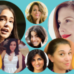 Clockwise from top left: Audrey Gelman, The Wing; Jen Gotch, Ban.do; Christene Barberich, Refinery29; Nancy Lublin, Crisis Text Line; Barbara Fedida, ABC News; Yael Aflalo, Reformation; Leandra Medine Cohen, Man Repellar. Clockwise from top left: Audrey Gelman, The Wing; Jen Gotch, Ban.do; Christene Barberich, Refinery29; Nancy Lublin, Crisis Text Line; Barbara Fedida, ABC News; Yael Aflalo, Reformation; Leandra Medine Cohen, Man Repellar.