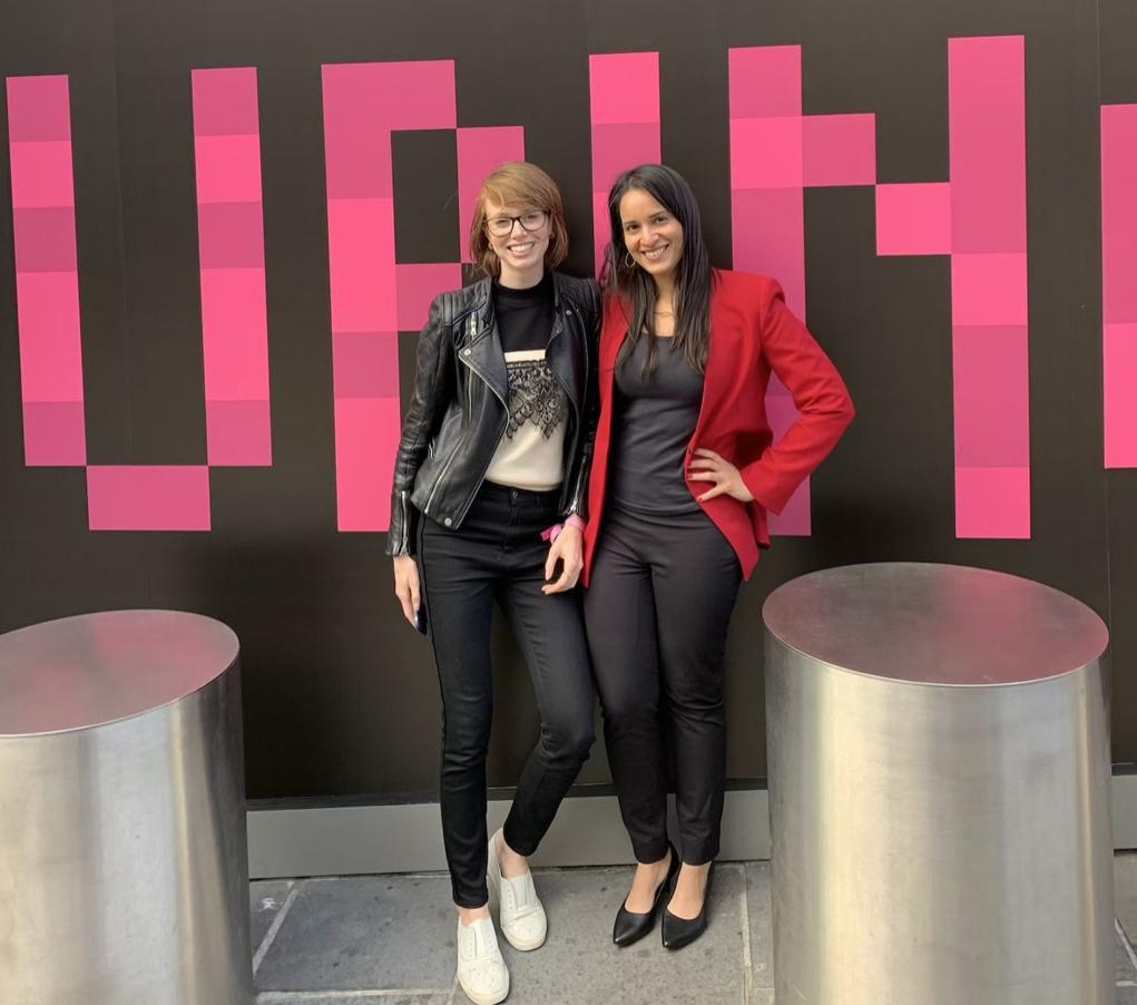 Nandini Jammi and Claire Atkinson