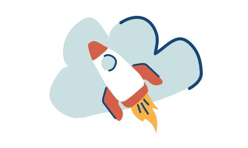 A rocket as Quicken Loans