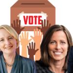 From left:UPS CEO Carol Tomé,Accenture CEO Julie Sweet, Nasdaq CEO Adena Friedman, General Motors CEO Mary Barra.